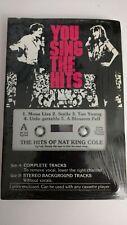 Vintage Pocket Songs Karaoke Cassette Nat King Cole You Sing the Hits Mona Lisa+