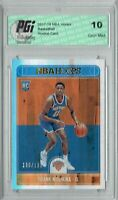 Frank Ntilikina 2017 Hoops #258 Silver SP, Only 199 Made Rookie Card PGI 10