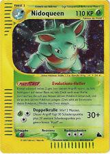 CCG 40 Pokemon Skyridge Holo Nidoqueen H21/H32 Deutsche Karte