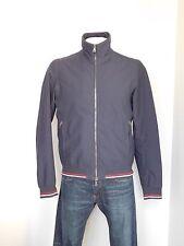 Mens Prada Navy Blue Jacket Collar Zipper Large 52 Gore-tex Rain Sport Coat ZZ3