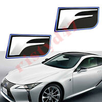 2PCS 3D Zinc Alloy F-Sport Premium Car Side Fender Emblem Decal for Lexus