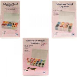 Embroidery Thread Organiser Floss Box Small Medium Large
