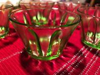 Depression Glass Vintage Dessert Cups Set Of 6