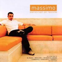 Massimo Definition of Techno (DJ Rush, Ben Sims, Sven Väth...) [CD]
