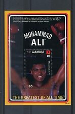 Gambia 2008 MNH Muhammad Ali Greatest of All Time 1v S/S I Boxing Stamps