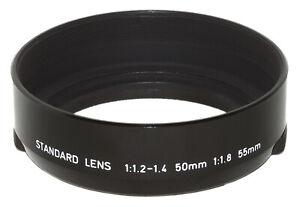 LN SMC Pentax 52mm Round Lens Hood for 50mm/f1.2, 50mm/f1.4, 55mm/f1.8 Lenses