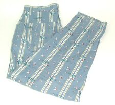 Crazy Horse Liz Claiborne Vtg 90s high waist floral striped mom pants 11/12