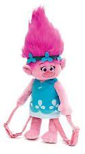 Joy Toy 67696 Trolls Poppy Head Plush Backpack