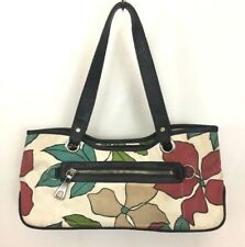 Franco Sarto Womens Small Floral Purse Handbag Print Tote