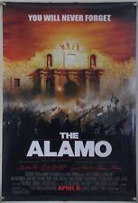 THE ALAMO DS ROLLED ORIG 1SH MOVIE POSTER DENNIS QUAID JASON PATRIC (2004)