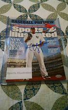 CC Sabathia Sports Illustrated Autographed (Steiner Sports COA)