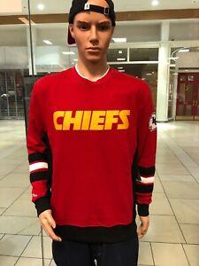 Kansas City Chiefs NFL Home Town Champs Crewneck Sweatshirt Mitchell & Ness