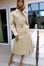 NUOVO con etichette donna BURBERRY Trench Mac Impermeabile UK/US 8-10-12 EU 36 38-40