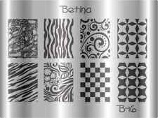 Plaque stamping BETINA B16