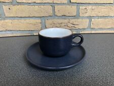 Friesland Heidelberg dunkelblau matt  1x Kaffeetasse plus Unterteller