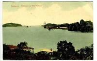 Singapore China New Harbour Entrance Postcard