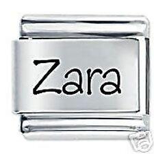 Zara nombre - 9mm Daisy encanto por JSC se adapta Classic Tamaño Italiano encantos pulsera