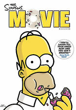 The Simpsons Movie (Dvd, 2009, Widescreen) w/ Slipcover