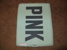 VICTORIA'S SECRET PINK IPAD 2 3 RUBBER SILICONE SLEEVE CASE SKIN MINT GREEN NEW
