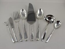 Reed & Barton Silver Wheat Sterling Silver 8 Piece Serving Set - No Monograms