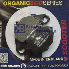 SFA Bremsbeläge hinten KAWASAKI KMX 125 B MX125B 1991-2003 - 2 SCO Bremsklötze