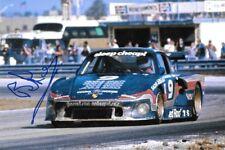 Brian Redman SIGNED  Cooke-Woods Porsche 935    Sebring 12hrs  1981
