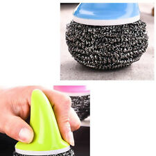 Home Supplies Steel Wool Pot Brush Kitchen And Toilet Products Washing Tool