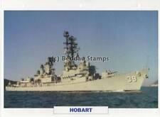 1964 HMAS HOBART D39 Perth-Class Destroyer Ship / Warship Photograph Maxi Card