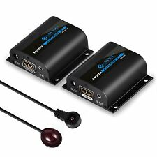Repetidor HDMI Extender 60 M 1080P HDMI con función de infrarrojos para PC DVD SKY HD Ps3 Ps4