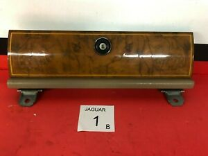 B1B 1988-1992 Jaguar  XJ6 VDP Dash Glove Box Door Genuine Burl Wood OEM
