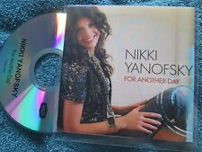 Nikki Yanofsky ‎– For Another Day Decca ‎Records Promo CDr, Single