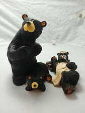 """Singing Tree Presents """"Jeff"""" by Bear Foots Sculpture Signed Artist Jeff Fleming"""