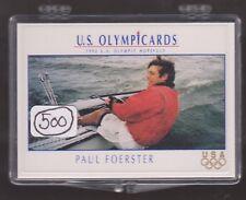 (500) 1992 US OLYMPIC HOPEFULS PAUL FOERSTER CARDS #60 ~ GIANT LOT ~ SAILING