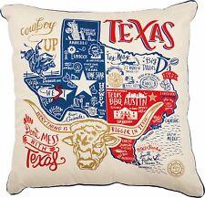 Texas Pillow Throw Accent Decorative Living Room Couch Home Decor Gift Souvenir