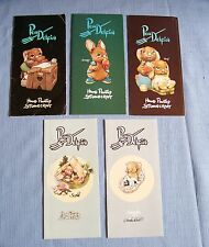 5 Special Pendelfin Store Foldout Advertising Booklets early editions