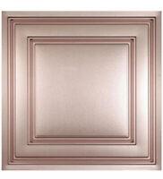 10 Tiles - Ceilume Stratford - 2' x 2' - Copper NEW