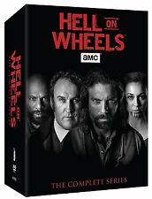 HELL ON WHEELS:  The Complete Series - Seasons 1-5 (Vol. 1 & 2)  Box Set   New