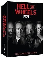 HELL ON WHEELS:  The Complete Series - Seasons 1-5 (Vol. 1 & 2)  Box Set   New