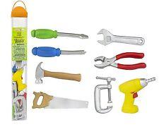 Tools toob/Safari Ltd/toob/689604/toy hammer,saw,screwdriver,drill,more