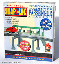 LifeLike H0 1376 - Elevated Commuter Passenger Station with Ramp