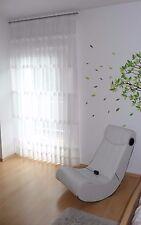 Textil Kontor Store Gardine Ausbrenner Stoff weiß Textil Meterware 300 cm hoch