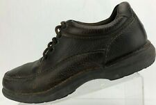Rockport Walking Shoes Encounter Lace Up Brown DMX Leather Oxfords Mens US 9.5 W