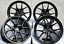 "ALLOY WHEELS 18"" CRUIZE GTO GB GLOSS BLACK CONCAVE Y SPOKE 5X112 18 INCH ALLOYS"