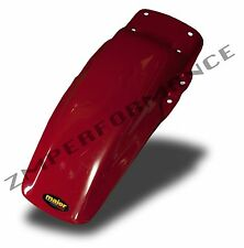 NEW MAIER HONDA XR 100 85 - 00 RED PLASTIC REAR MOTORCYCLE FENDER GUARD