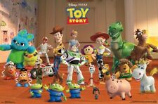 TOY STORY 4 - CHARACTER COLLAGE POSTER - 22x34 - DISNEY PIXAR MOVIE 17079