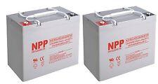 NPP 12V 55Ah 60Ah 200W High Rate AGM Deep Cycle SLA Long Life UPS Battery Pack 2