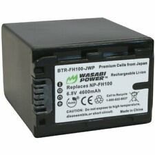 Wasabi Power Battery for Sony NP-FH100 (4600mAh)
