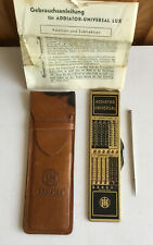 Addiator Universal Early Calculator with Original Case & Stylus