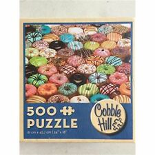 Cobblehill Puzzles MO 500 piece Jigsaw Puzzle  - Doughnuts   CBL57121