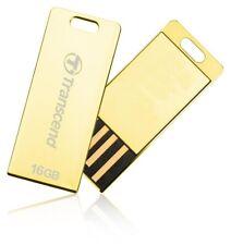 16GB Transcend JetFlash T3G USB2.0 Flash Drive Gold Edition